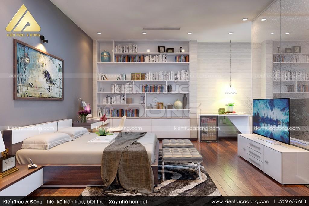 Mẫu nhà đẹp thiết kế dinh thự 3 tầng hiện đại tại Nha Trang