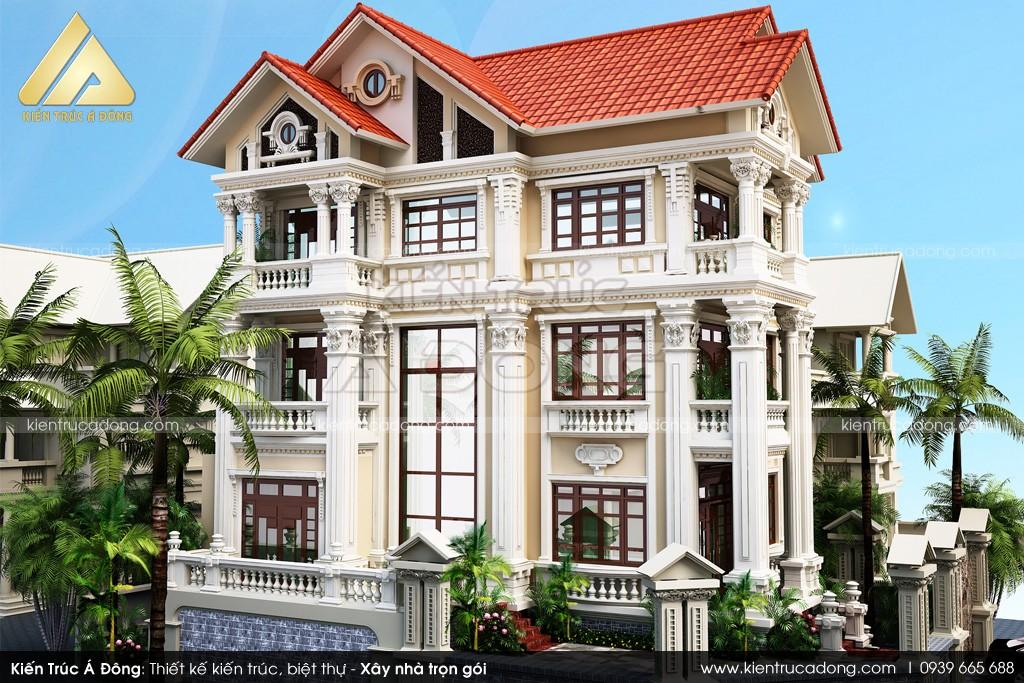 Thiết kế dinh thự tại Kiên Giang