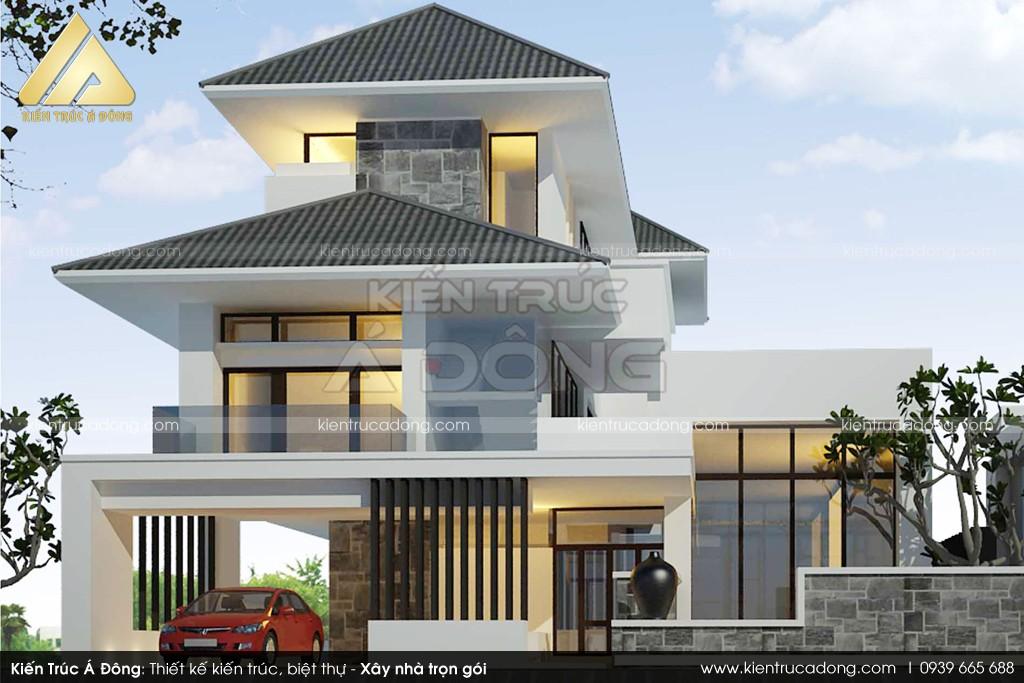 Thiết kế dinh thự 3 tầng đẹp khó rời mắt tại TP Hồ Chí Minh