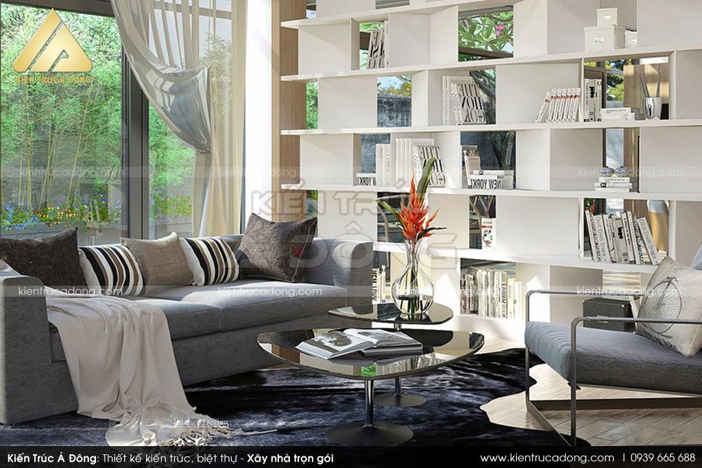 Mẫu dinh thự 3 tầng hiện đại đẹp tại thành phố Lào Cai