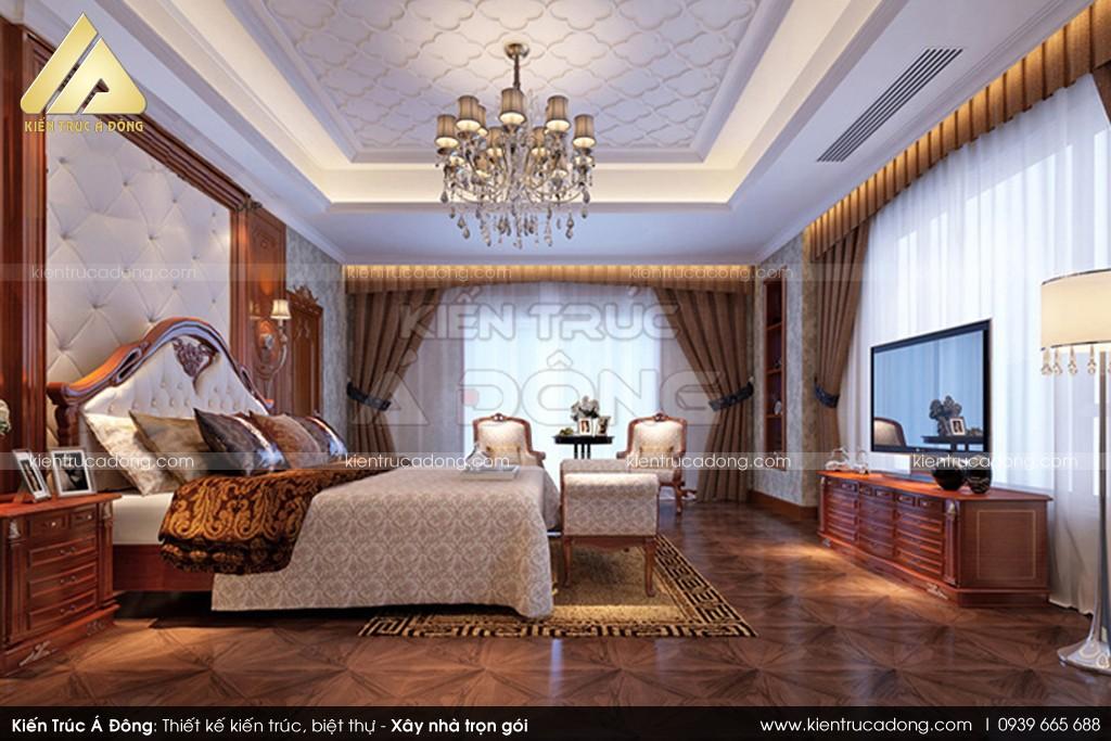 Mẫu thiết kế lâu đài tân cổ điển đẹp 3 tầng tại Tuyên Quang