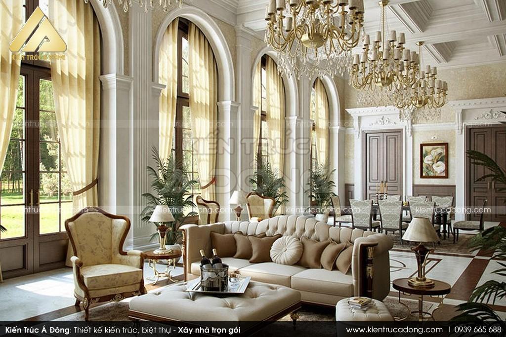 Thiết kế lâu đài cổ điển Châu Âu 3 tầng Gia Lâm Hà Nội