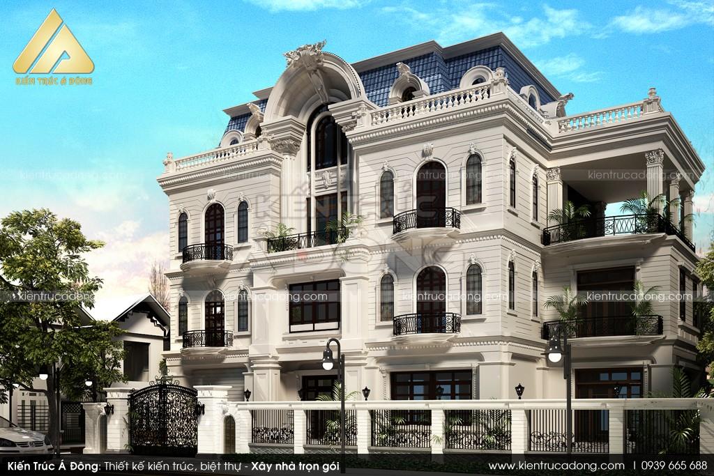 Thiết kế dinh thự tại Nam Định