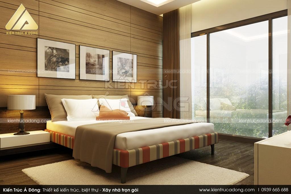 Thiết kế biệt thự hiện đại, đẹp 2 tầng ở Quảng Trị