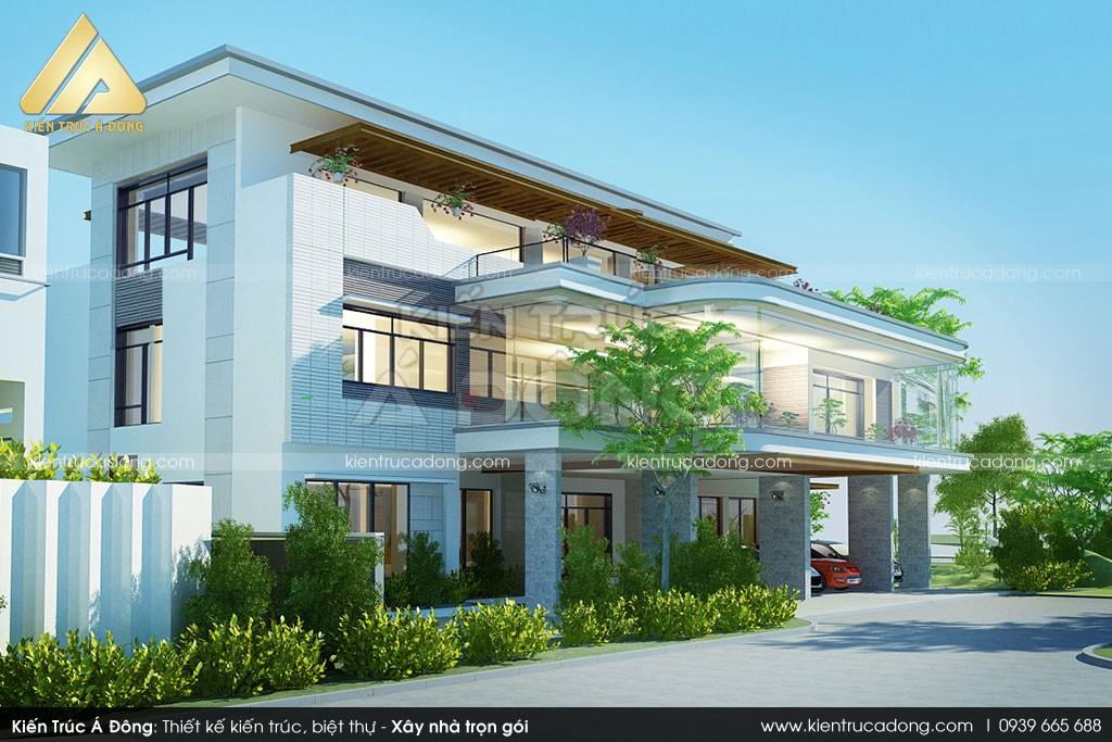 Thiết kế dinh thự tại Quảng Ninh
