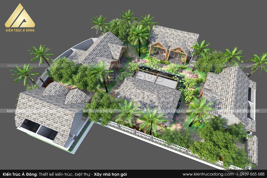 Mẫu thiết kế Khu nghỉ dưỡng Homestay tại Ninh Bình