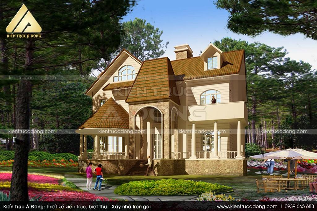 Thiết kế dinh thự tại Gia Lai