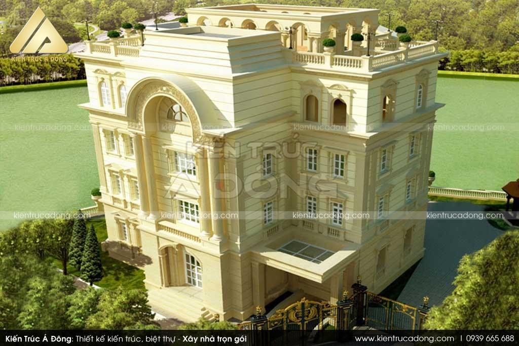 Thiết kế dinh thự tại Bình Phước