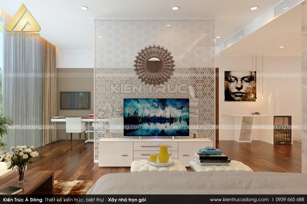 Thiết kế dinh thự phong cách hiện đại TP Nam Định