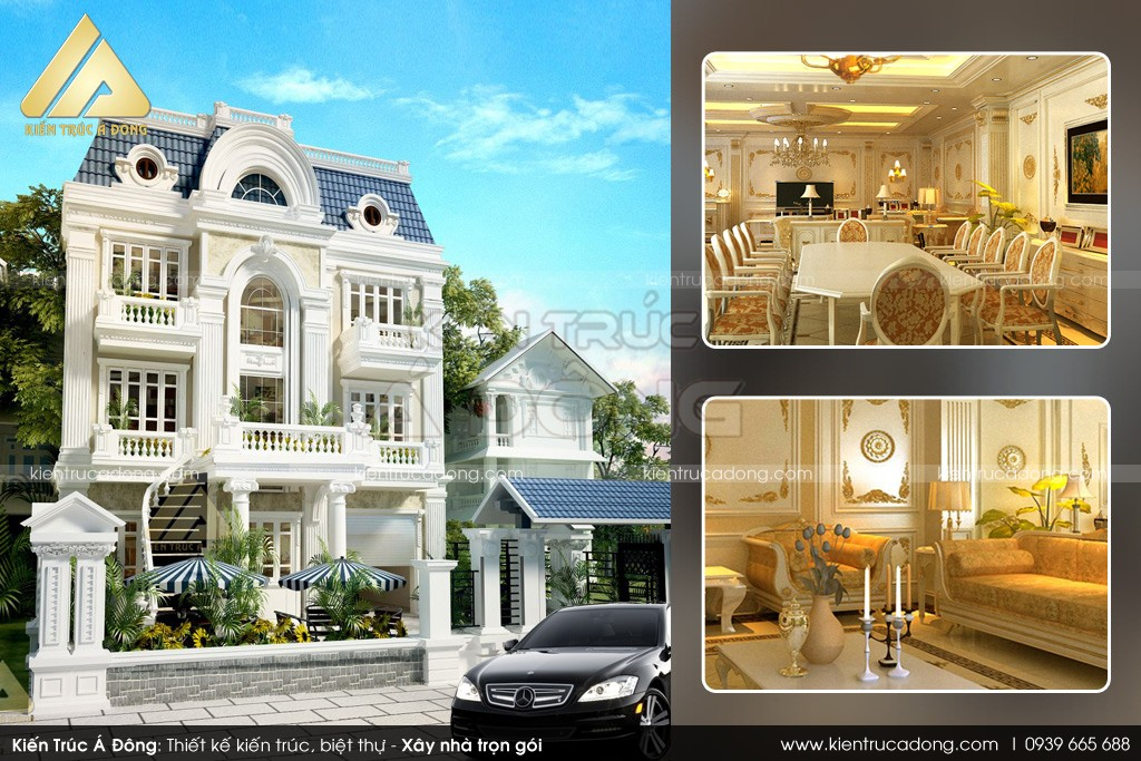 Công ty thiết kế nhà tại Long An
