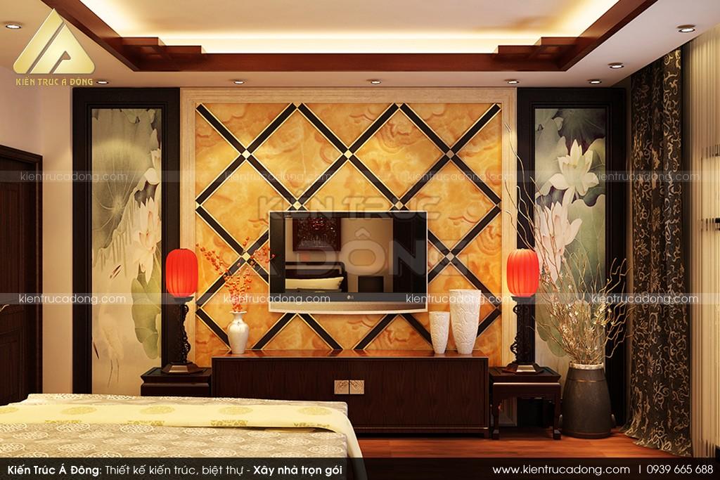 Mẫu dinh thự cổ điển 3 tầng cao cấp ở TP. Hà Nội