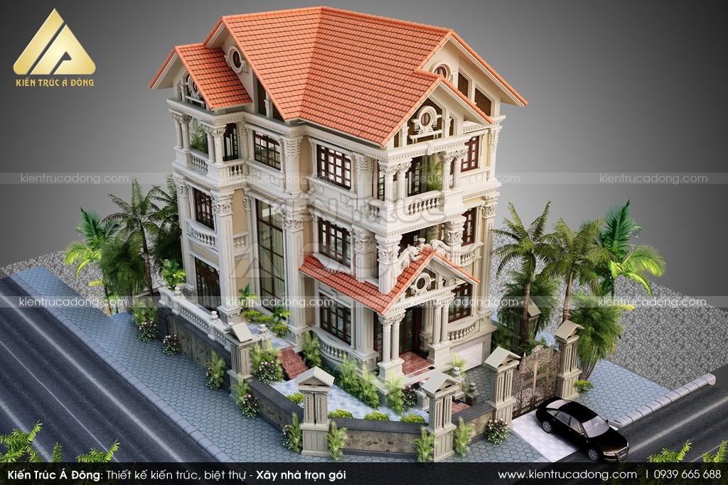 Mẫu thiết kế lâu đài cổ điển đẳng cấp