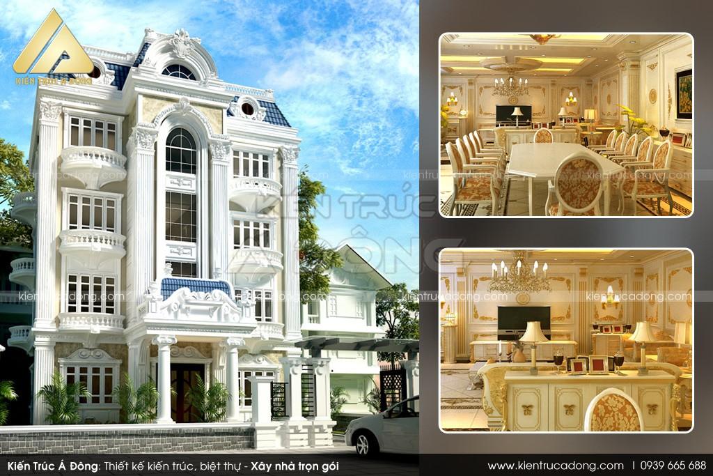 Thiết kế dinh thự tại Lào Cai