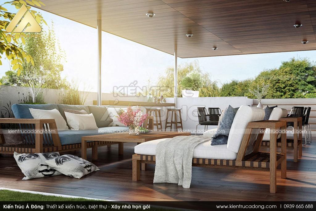 Mẫu dinh thự nghỉ dưỡng đẹp đáng sống, đáng mơ ước