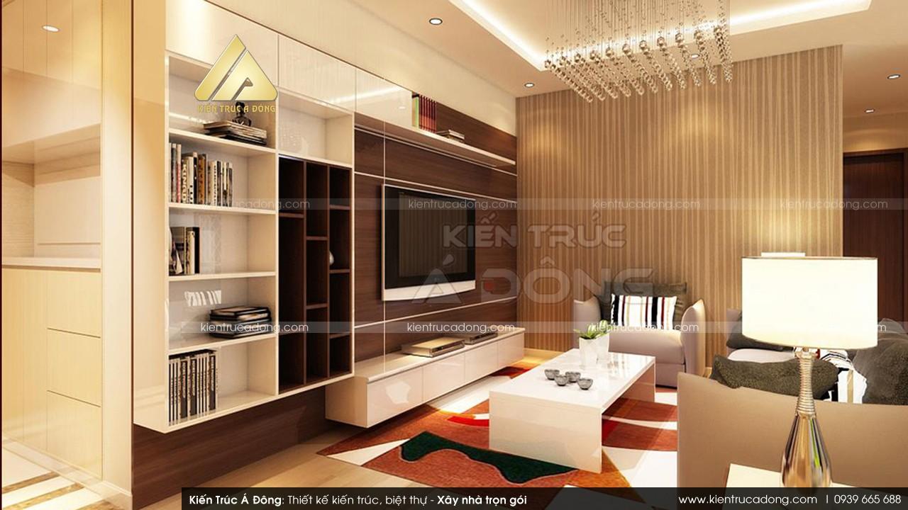 Mẫu thiết kế nhà dinh thự 2,5 tầng đẹp, hiện đại