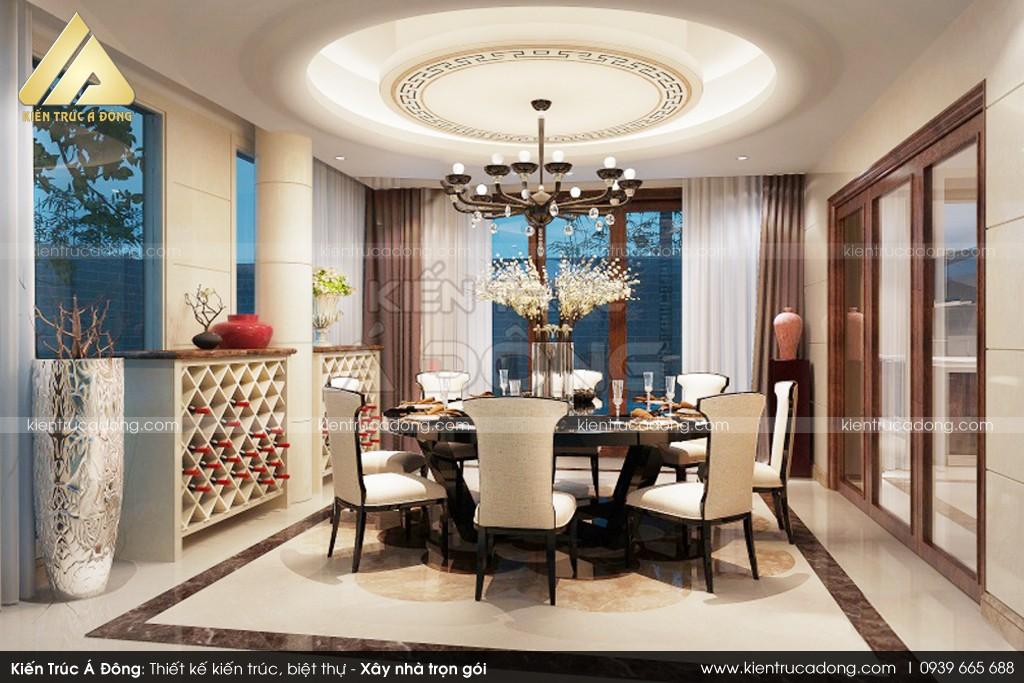 Mẫu thiết kế nhà biệt thự 2,5 tầng đẹp, hiện đại