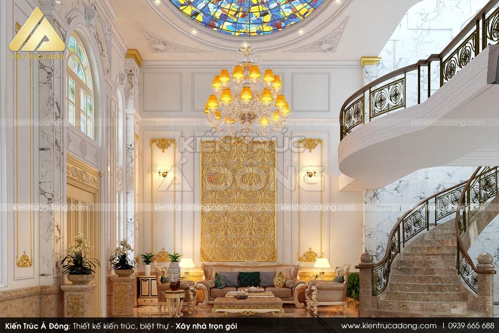 Thiết kế biệt thự nghỉ dưỡng kiểu Pháp 3 tầng tại TP Hội An