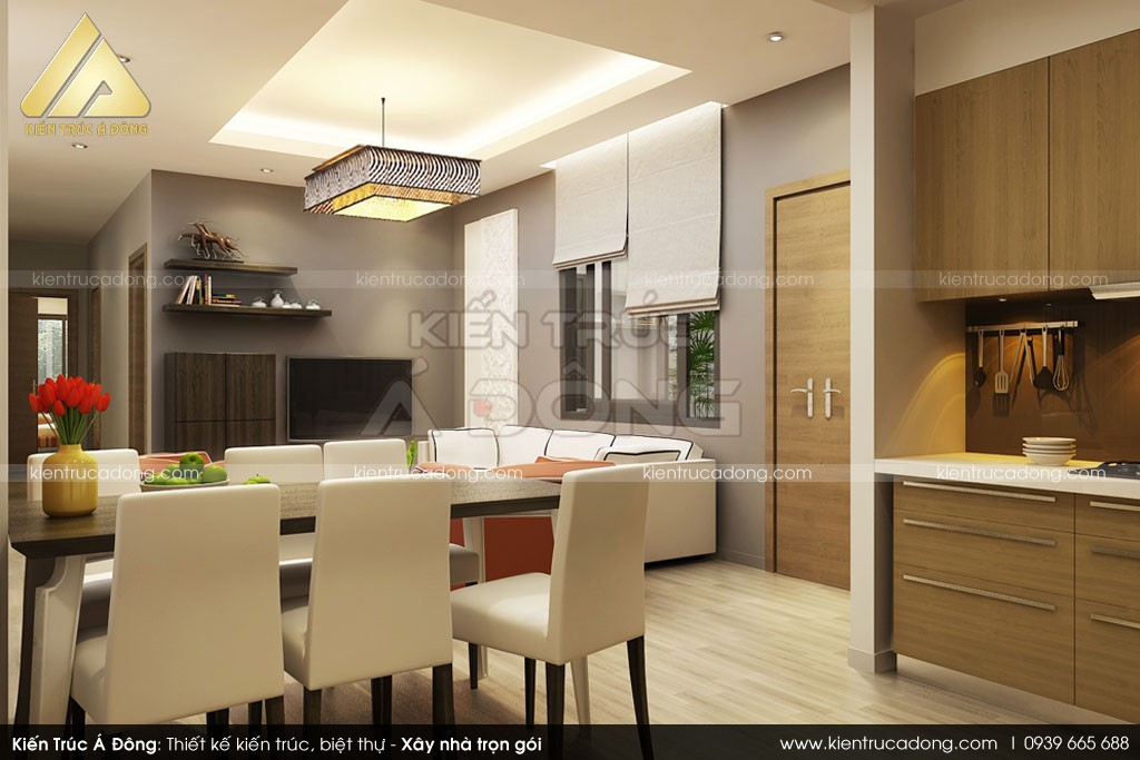 Mẫu thiết kế nội thất nhà chung cư đẹp